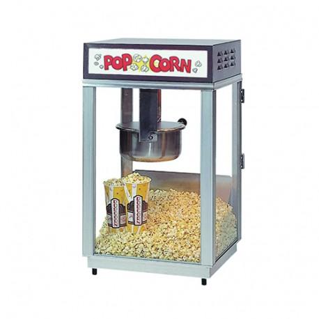 Popcornmaskine på hjul