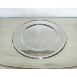 Sølv dækketallerkener