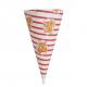 Popcorn Kræmmerhuse - 50 stk.